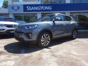 SsangYong Tivoli 1.5 Ultimate  Auto - H/LEATHER - NAV - BLUETOOTH - Four Wheel Drive Petrol Grey at CSG Motor Company Chalfont St Giles
